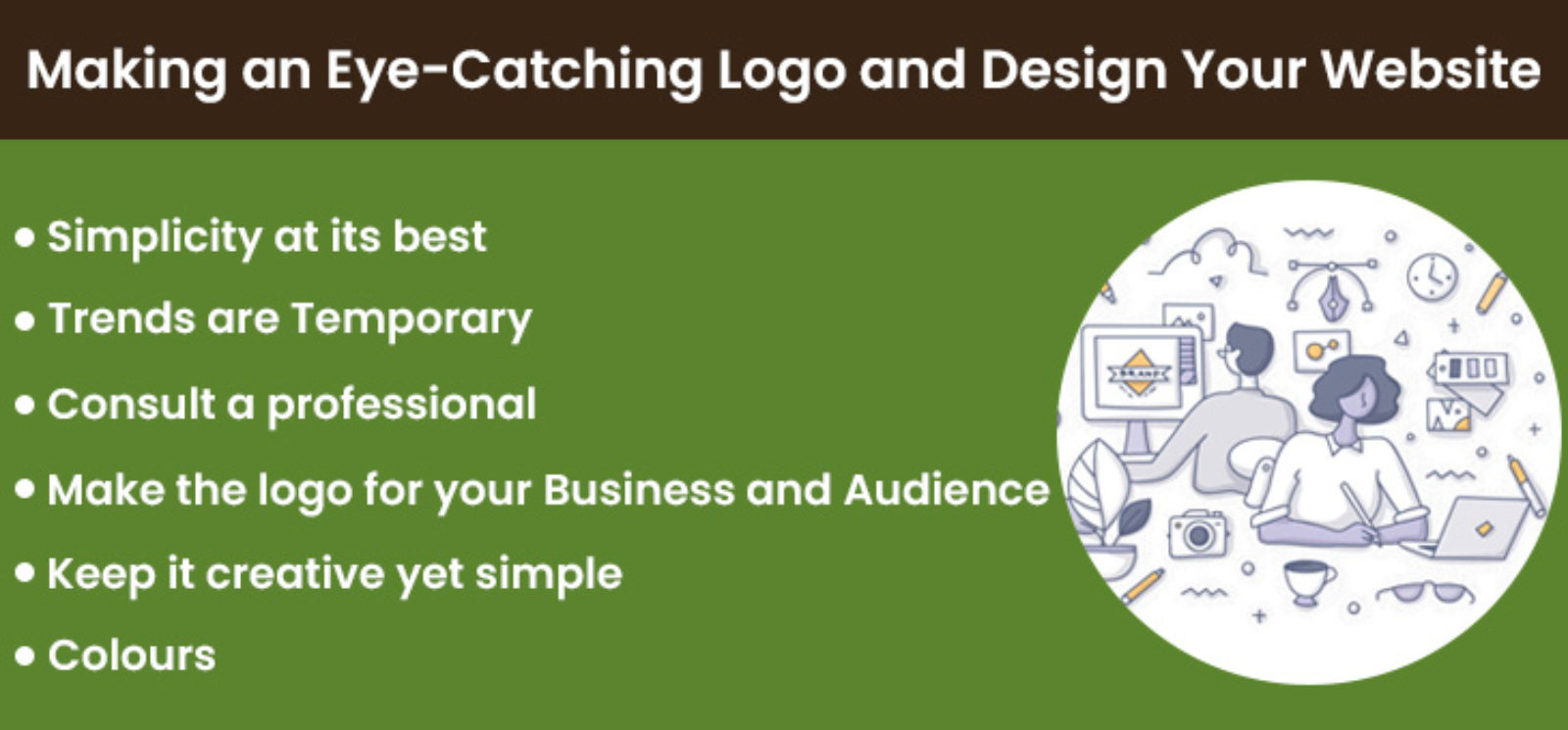 Making an Eye-Catching Logo and Design Your Website