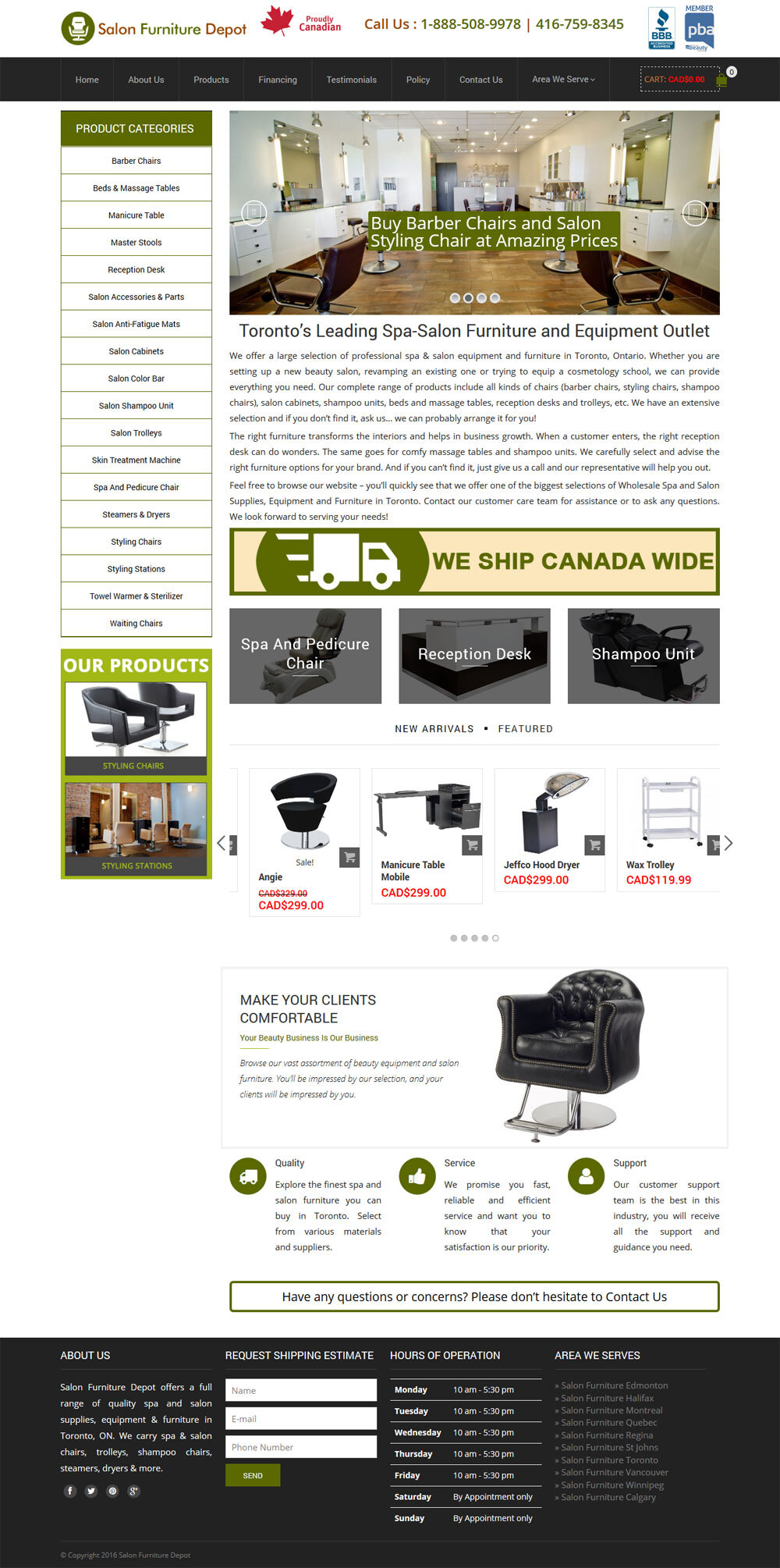 eCommerce Web Development Toronto