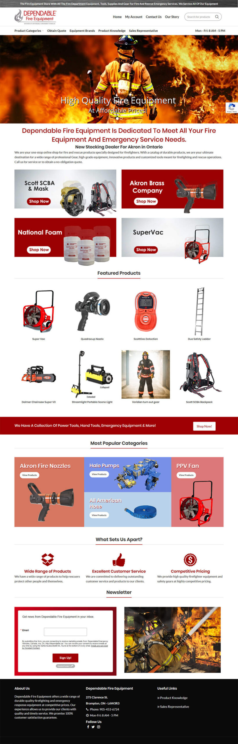 eCommerce Website Design Toronto