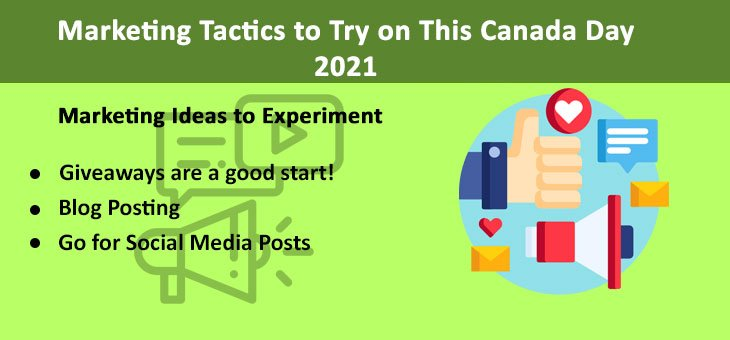 Marketing Tactics to Try on This Canada Day 2021